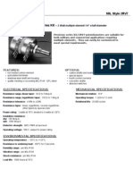 PEC KK Series Potentiometers