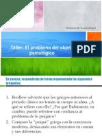 Taller sobre el objeto en psicología (1).ppt