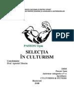 SelectiaInCulturism