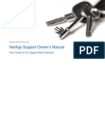 NetApp Support Owner Manual