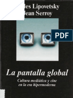 La Pantalla Global-Lipovetsky