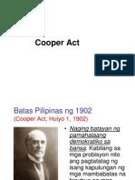 Cooper Act