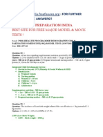 Psm _health Programme-Demography-obs & Paediatrics Medicine_ 50q Model Test