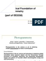 Photogrammetry Mathematics 080116