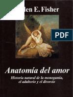 Anatomia Del Amor Fisher Helen