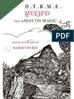 Ramsey Dukes-Ssotbme Revised - An Essay on Magic (2002)