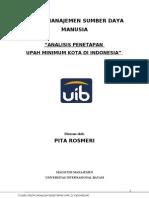 Tugas UTS MSDM (Analisa UMK) - Final