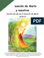 AsunC.La Asunción de María  y nosotros