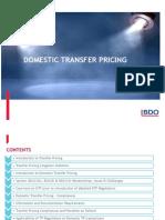 BDO Domestic Transfer Pricing Presentation