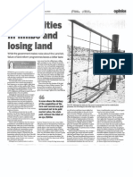 Communities in limbo and losing land