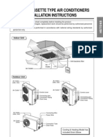 Cassete Type AC Manual