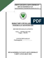 Dokumen Pengadaan Langsung Konstruksi