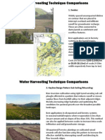 Water Harvesting Technique Comparisons Doherty