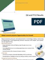 Geometric Limited Analyst Presentation Q4 FY12 Final
