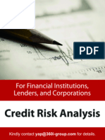 Best Practices in Credit Risk Analysis