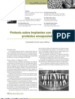 238 CASO CLINICO Protesis Retenedor Encapsulado