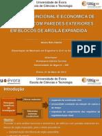 ANÁLISE FUNCIONAL E ECONÓMICA DE EDIFÍCIOS COM PAREDES - 2