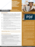 Mastering Construction Procurement Strategy & Contract Management