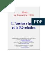 Tocqueville Ancien Regime