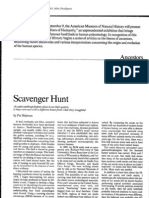 Scavenger Hunt by Pat Shipman