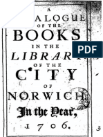 Norwich Library 1706