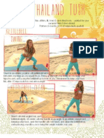 BIKINI SERIES Tone It Up Thailand Tush Printable
