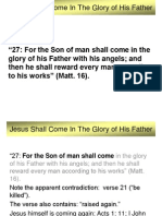 Jesus Shall Come In The Glory of His Father.ppt