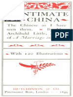 Intimate China by Mrs. Archibald Little