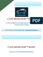 cast designer basic deatails