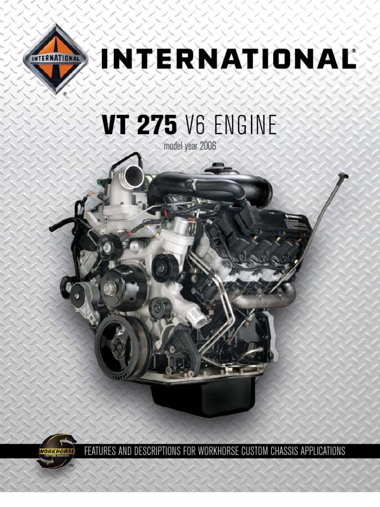 international vt 275 2006 engine catalog 4 20 06 relay fuse rh scribd com DT466 Engine Navistar Engine Diagnostic