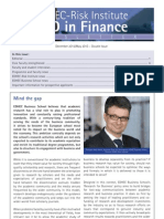 PhD in Finance Newsletter December2012 May2013