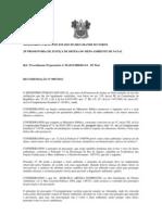 RECOMENDAÇÃO N 007 Maus Tratos a cavalos Regimento de Policiamento Montado da Polícia Militar do Estado do Rio Grande do Norte
