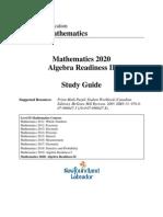 Mathematics 2020 Study Guide