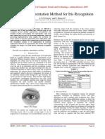 Enhanced Segmentation Method for Iris Recognition