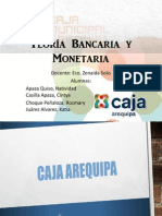 Teoría Bancaria y Monetaria - CMAC Arequipa