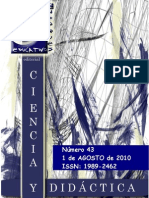 revista digital ciencia y didáctica