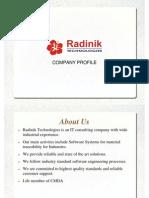 Radinik - Company Profile (MTS)