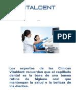 Clínicas Vitaldent Fernandez de los Ríos