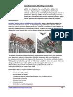BIM-Imperative Aspect of Building Construction