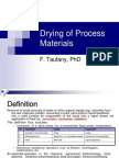 Drying M12