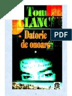 Tom Clancy Datorie de Onoare