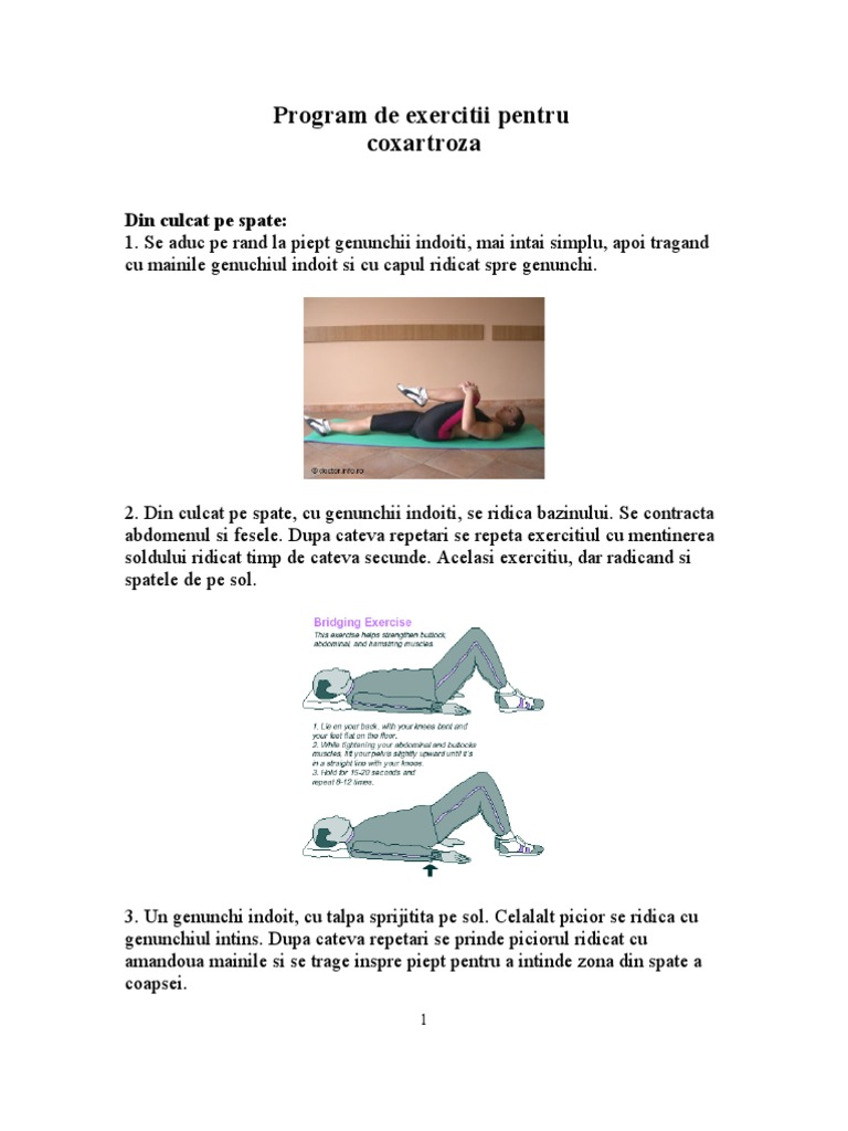 exercitii coxartroza