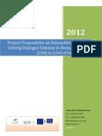 Interactive Dialogue Seminar Project Proposal
