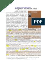 CONSTANTE Alberto - Eduardo Nicol y la filosofía de la praxis