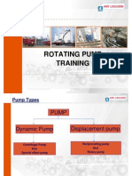 Rotating Pump Training
