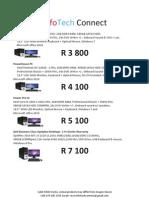 InfoTech Connect Pricelist