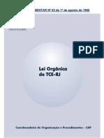 Lei Complementar nº 63 (Lei Orgânica do TCE-RJ)