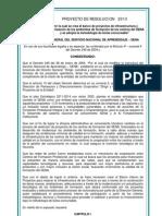 Banco Proyectos Modernizacion