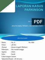 Laporan Kasus Parkinson