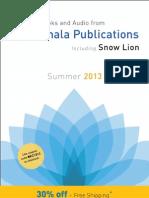 Buddhist Catalogue Summer 2013